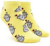 Forever 21 FOREVER 21+ Elephant Ankle Socks