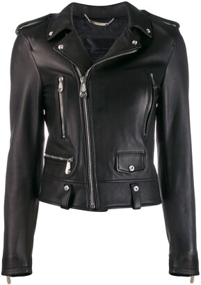 Philipp Plein Statement biker jacket