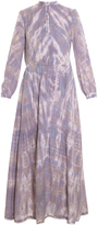 Raquel Allegra Tie Dye Maxi Dress