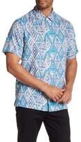 Tommy Bahama Graphic Printed Short Sleeve Shirt