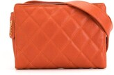 Chanel Pre Owned 1997 diamond quilted belt bag