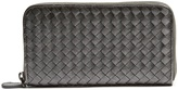 Bottega Veneta Intrecciato zip-around leather wallet