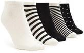 Forever 21 FOREVER 21+ Polka Dot Ankle Sock Set