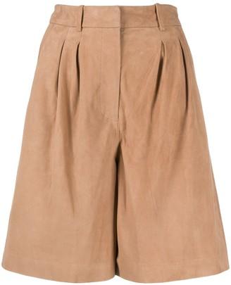 S.W.O.R.D 6.6.44 High-Waisted Knee-Length Shorts