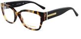 Tory Burch Tokyo Tortoise & Black Eyeglasses