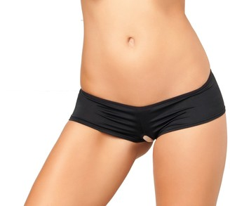 Rene Rofe Women's Crotchless Lace Back Panty