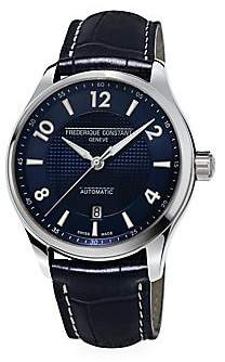 Frederique Constant Men's Runabout Automatic Stainless Steel & Leather Strap Watch