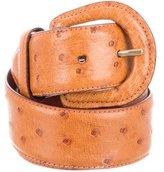 Polo Ralph Lauren Ostrich Buckle Belt