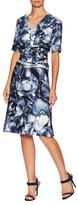 Carolina Herrera Silk Printed Dress