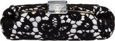 One Kings Lane Vintage Chanel Large Lace & Lucite Clutch