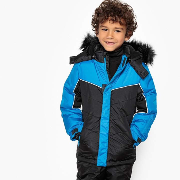 8a92b95cb La Redoute Collections Big Boys Hooded Checked Coat Clothing, Shoes &  Jewelry 3-12 Years