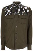 Valentino Camouflage Star Shirt