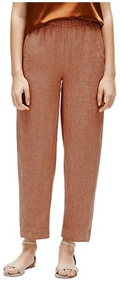 Eileen Fisher Lantern Pants (Cinnamon) Women's Casual Pants