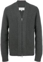 Maison Margiela zip up cardigan - men - Wool/Cashmere - M