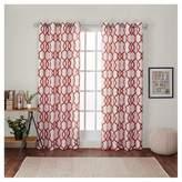 Exclusive Home Kochi Linen Blend Grommet Top Window Curtain Panel - Exclusive Home®