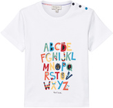 Paul Smith White Glow in the Dark Alphabet Tee