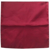 Forzieri Cranberry Silk Pocket Square