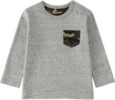 Uniqlo Toddler Crewneck Long Sleeve T-Shirt