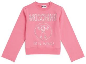 Moschino Kids Embellished Milano Sweatshirt