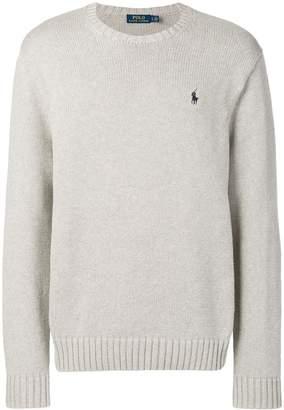 Polo Ralph Lauren logo embroidered sweatshirt