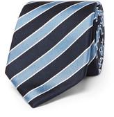 HUGO BOSS 7.5cm Striped Silk-Jacquard Tie