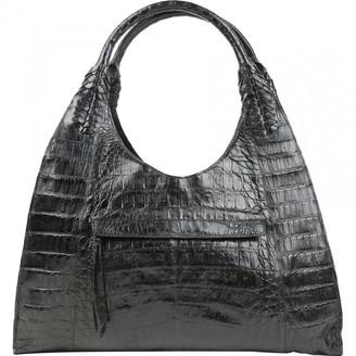 Nancy Gonzalez Black Crocodile Handbags