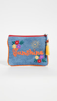 Shopbop @Home Denim Sunshine Pouch