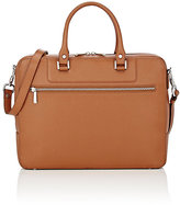 Barneys New York MEN'S ZIP-AROUND BRIEFCASE-BROWN