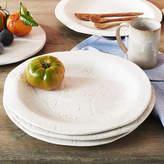 Artisan White Stoneware Handmade Plate
