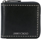Jimmy Choo Lawrence zip-around wallet - men - Calf Leather - One Size