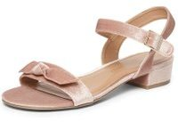 Dorothy Perkins Womens Wide Fit Blush 'Friday' Sandals- Pink