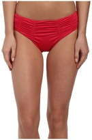 Badgley Mischka Solids Pin Stitch Brief
