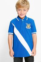 Boohoo Boys Embroidered Polo Top