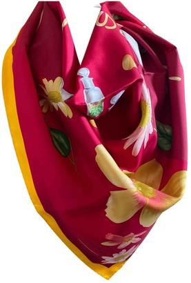 Patek Philippe Pink Silk Scarves