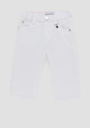 Emporio Armani Pants In Cotton Gabardine