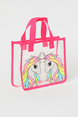 H&M Transparent Shopper - Pink