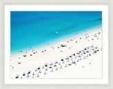 The Well Appointed House Beach Scene Framed Wall Art III-Available in a Variety of Sizes