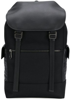 Bottega Veneta Multi-Functional Interwoven Backpack