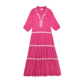 Masala Baby Women's India Dress Pink S