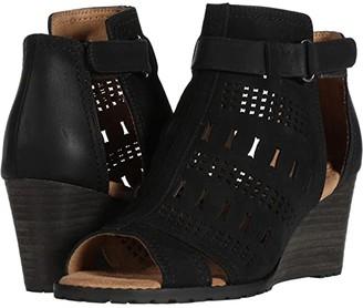 Cobb Hill Lucinda Strap Bootie (Black) Women's Shoes