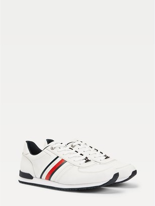 Tommy Hilfiger White Leather Men's