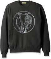 Versace Men's Jeans Detail Sweater