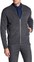 Ben Sherman Textured Zip Up Sweater
