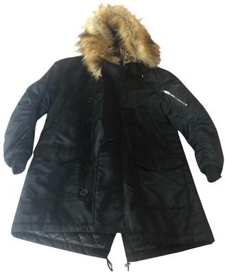 The Kooples Fall Winter 2019 Black Coat for Women