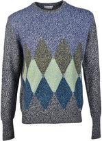 Ballantyne Diamond Print Jumper