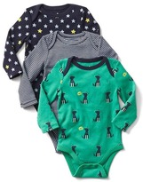 Gap Happy dogs bodysuit (3-pack)
