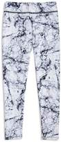 Onzie Girls' Marble-Print Leggings