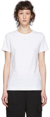 Juun.J White Logo T-Shirt