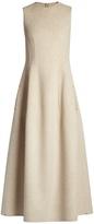 The Row Bonec double-faced sleeveless maxi dress