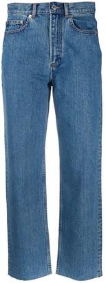 A.P.C. Cropped Denim Jeans